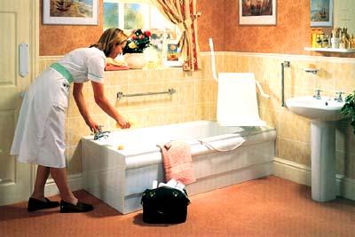 Ванна для престарелых